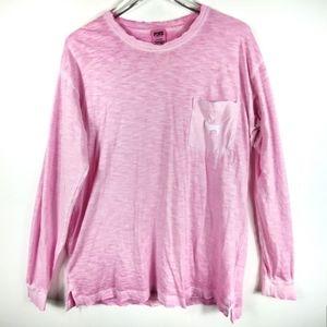 Victoria's Secret Dog Pocket Long Sleeve Tshirt